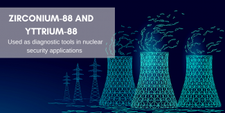 Zirconium-88 and Yttrium-88 are used as diagnostic tools in nuclear security applications